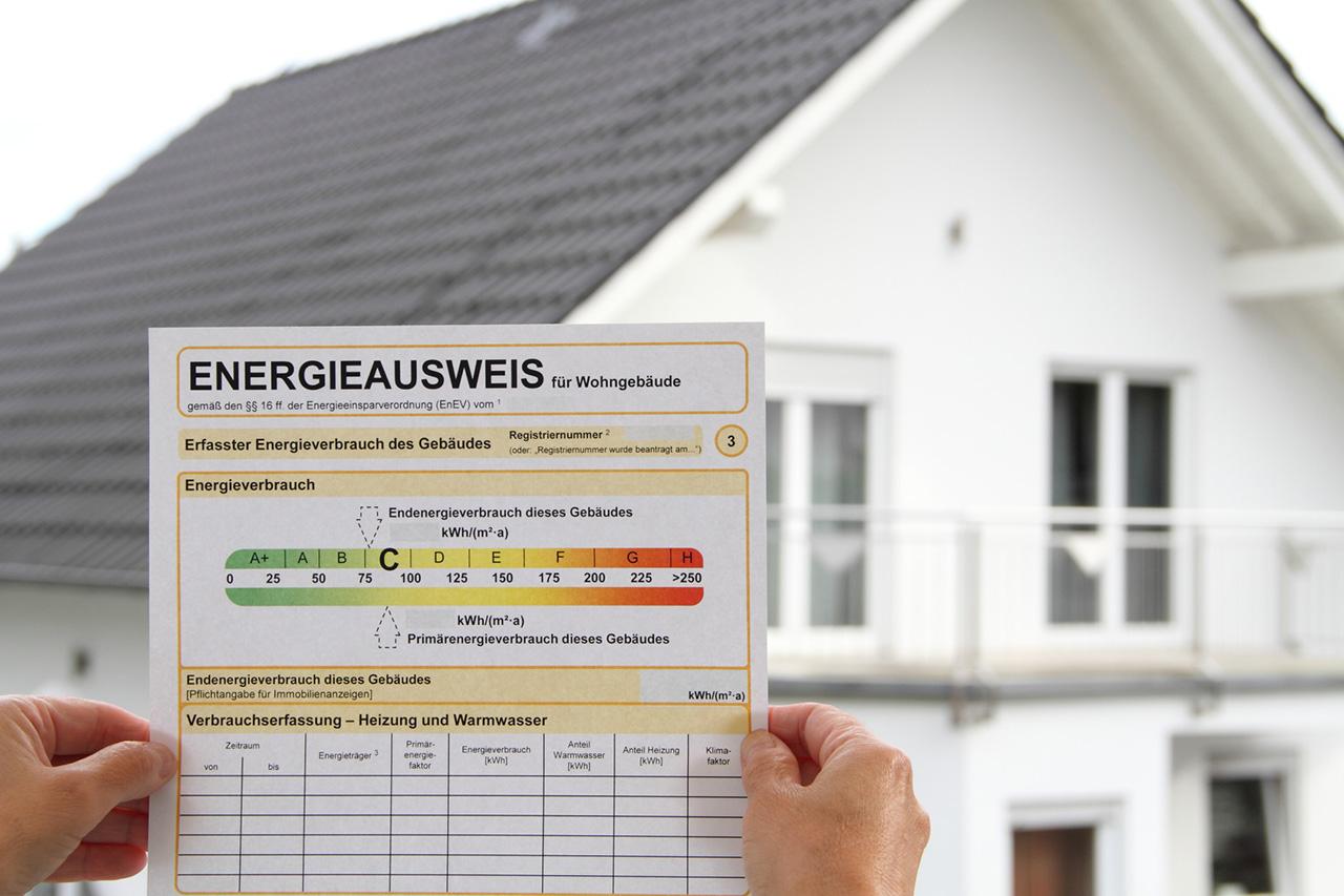 Energieausweis für Wohngebäude